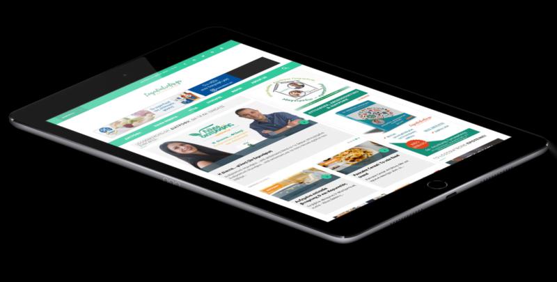 Κατασκευή ιστοσελίδας Λόγω... Διατροφής  - iPadMockup 2 800x405 - Λόγω… Διατροφής